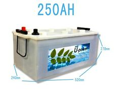 Bateria Solar Fotovoltaica monoblock 250AH 12v alta calidad