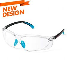 Safeyear Safety Glasses Clear Lens Anti Fog Scratch Side Shield Super Shooting