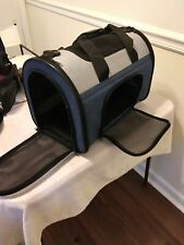 """cat/small dog carrier 16"""""""