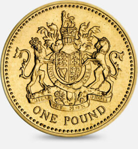 Rare British £1 One Pound Coins Circulated between 1983 to 2015