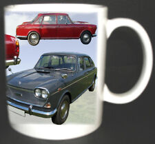 AUSTIN 3 LITRE SALOON CLASSIC CAR MUG LIMITED EDITION. ADD YOUR OWN REG FOR FREE