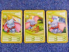 Morrisons Disney 3 Cards - 20th Anniversary Collection C1 C3 C5 Dumbo Disneyland