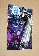 Final FANTASY XIV 14 heavensward PROMO STICKER ADESIVO Gamescom 2015