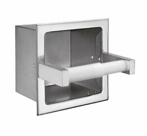 Moen 5571 Donner Hotel Motel Recessed Heavy Duty Toilet Paper Holder Chrome NEW
