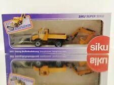 Siku Super serie 2615 Mercedes Unimog excavator Straßenbaufahrzeug 1:55 ovp