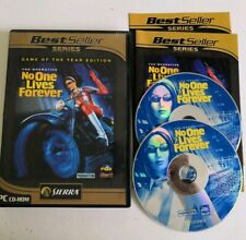No One Lives Forever Game Of The Year Edition Jeu Game PC  Avec Notice