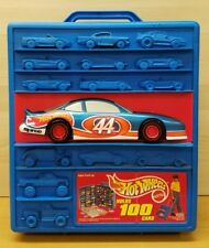 Vintage Hot Wheels 100 Car Holding Display Storage Carry Case