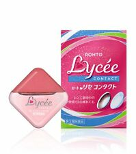 ROHTO (Japan) Lycee Contact Eye Drops 8ml  (Cool Level:1)