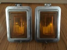 1978 1979 Cadillac Deville Fleetwood Front Turn Signal Marker Lights