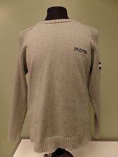 Tommy Hilfiger Sweater Pullover Red Label Denim Crew Neck Long Sleeve Men's L