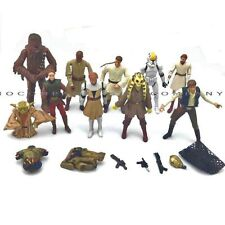 "Promotion 10pcs - Star Wars 3.75"" CHEWBACCA Han Solo Yoda KIT FISTO Figure Toy"