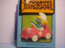 Smurfs Smurfette in pink car with mauve steering wheel SJ1237