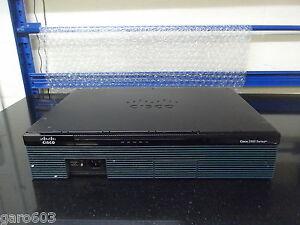Cisco 2911/K9 2911 Integrated Services Gigabit Router (ipbasek9).