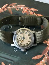 WW2 USMC Elgin military men's watch, great working collectible