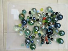 Vintage MIXED MARBLES Approx 1.5 KG  - various sizes and conditions must look