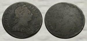 ☆ INCREDIBLE !! ☆ 1775 King George III Revolutionary War Coin !! ☆