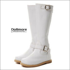 Dollmore doll shoes Model Doll M - Riding Boots (White) out length 11cm