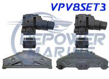 Scarico Collettore, Alzata & 7.6cm Estensione Set per Volvo Penta 5.0L,5.7L V8