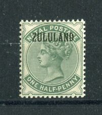 Zululand QV 1888-93 halfpence dull green (without stop) SG13 MNH