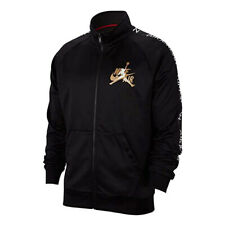 Nike Air Jordan Classic Tricot Warm-Up Jacket Men's Black / White CK2180-011 NEW