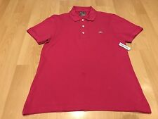 Lacoste Short Sleeves Devanlay Polo Shirt - Bright Pink (Size 3)