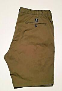 "Men's PAUL SMITH signature branded original designer casual chino shorts -34""w"