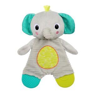 Bright Starts Snuggle & Teethe Elephant Plush Baby Toy