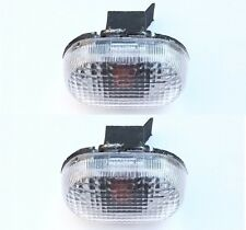 Pair Left Right Side Fender Lamp Light Signal Marker for Suzuki Swift Cultus MK2