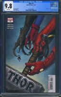 Thor 7 (Marvel) CGC 9.8 White Pages Donny Cates story Aaron Kuder art