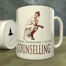 I Think Therefore I Study Counselling - Mug