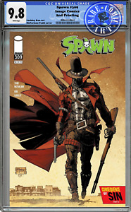 SPAWN #309 CGC 9.8 2ND PRINT TODD MCFARLANE GUNSLINGER GUARANTEED PRESALE NM 🔥