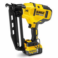 DeWalt XR BRUSHLESS FINISHER NAILER KIT DCN660P2-XE 18V +5.0Ah Battery & Charger