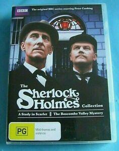 SHERLOCK HOLMES A Study in Scarlet / The Boscombe Valley Mystery DVD Reg 4 AUST