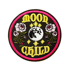 "Artwork Moon Goddess Market Embroidered Iron On 3"" Patch for Jeans Clothes Shirt"
