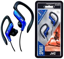 JVC HA-EB75 Over the Ear Cable Headphones - Blue
