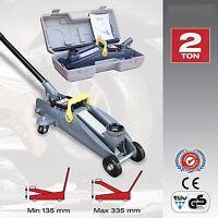 Sumex Car & Van Lifting 2 Tonne Heavy Duty Hydraulic Floor Trolley Jack & Case
