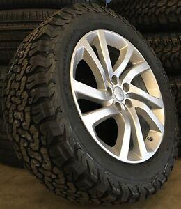 "Genuine Land Rover Discovery 5 5011 20"" Wheels & BF Goodrich KO2 Tyres x4"