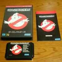 Ghost Busters Sega MegaDrive MD Used Japan Import 1990 Boxed w/s Manual F/S