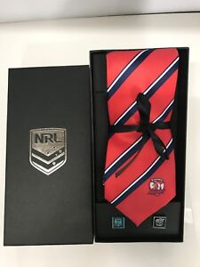 NRL Sydney Roosters Tie & Cufflinks Gift set FREE SHIPPING