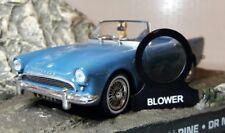 Sunbeam Alpine Tiger Daimler Dart Heizung Lüftung Motor Schalter Ösen Label