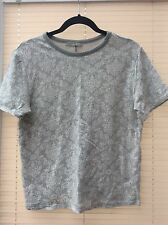 PRIMARK GREY SWEATSHIRT TOP SIZE 12 used