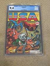 New ListingFlashback 3 Cgc 9.4 White Pages (Reprints Mega Key Usa Comics #1)