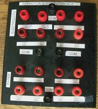 Homemade Capacitor Substitution Box All Components Tested Ok Withleads Ships Free