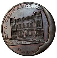 1790s London Kempson's Building Series Ordnance Office Penny Conder Token D&H-64