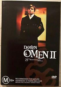 Damien Omen 2 DVD - 1978 William Holden - EX-RENTAL - REGION 4 AUST