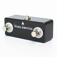 Mosky Dual Switch Guitar Effect Pedal for Dual Momentary Footswitch High Quality