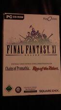 Final Fantasy XI / 11 - PC Spiel - Rarität