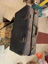 Brown Leatherbound Suitcase Vintage