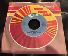 "Johnny Lee Bet Your Heart On Me Vinyl 7"" Single 1981 Full Moon Asylum Records"