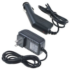 Car Charger + AC Adapter for Pandigital SuperNova R80A400 R80B400 eReader Tablet